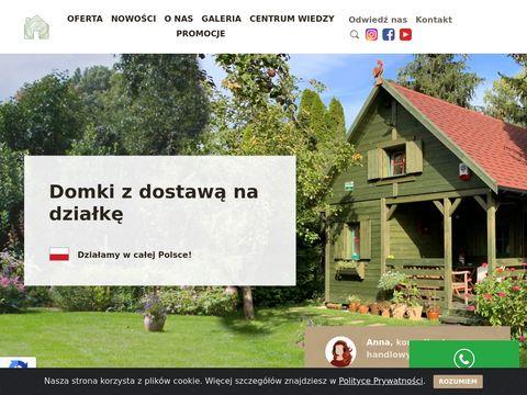 Altany z drewna - Drewnolandia.pl
