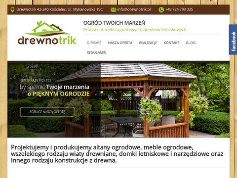 Altany i altanki ogrodowe | drewnotrik.pl