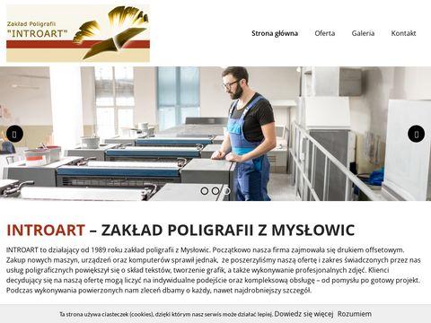 INTROART introligator Mysłowice