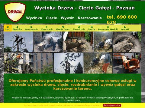 Wycinka Drzew - Cięcie Gałęzi - Rębak do Gałęzi - Poznań