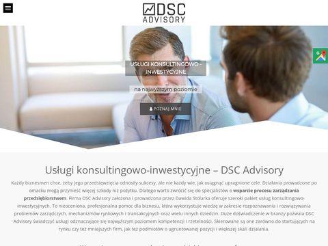 Dsc-advisory.pl wycena spółki wielkopolskie