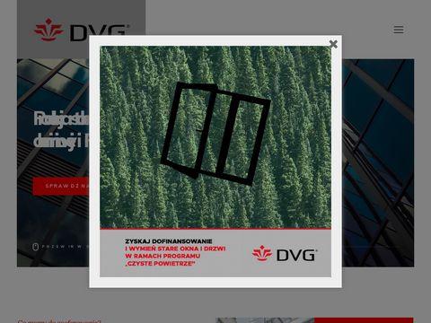 Producent okien PCV - DVG