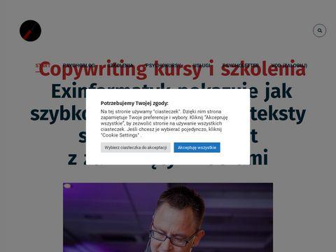 Dynanet.pl - copywriter Dariusz Puzyrkiewicz