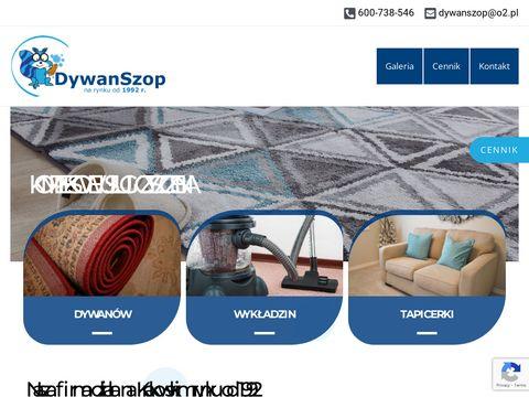 Czyszczenie dywanów Kraków