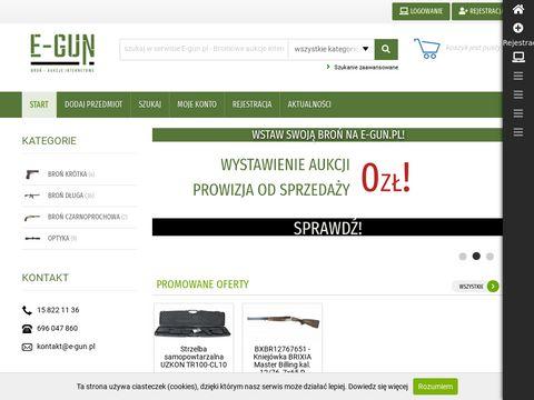 E-gun.pl - Broniowe aukcje internetowe