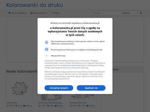 Kolorowanki dla ch艂opc贸w do druku - e-kolorowanka.pl