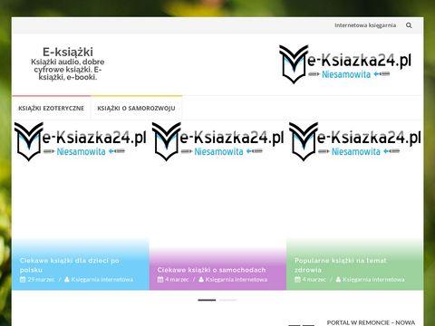 E-ksiazka24.pl - Książki Audio, e-Prasa, e-Książki