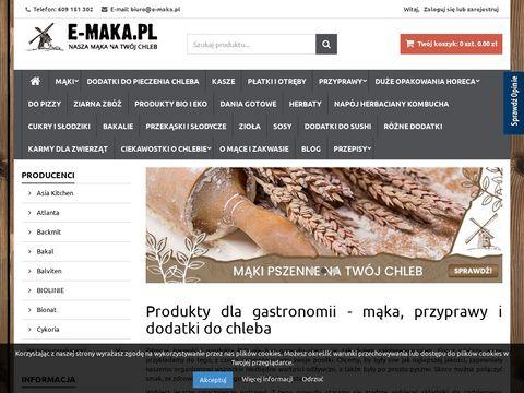 Sklep e-maka.pl mÄ…ki do pieczenia chleba