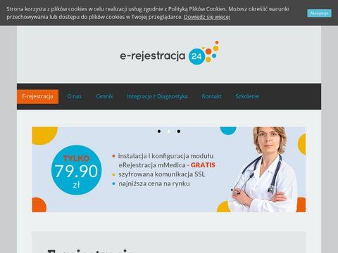 E-rejestracja24.eu - rejestracja mmedica