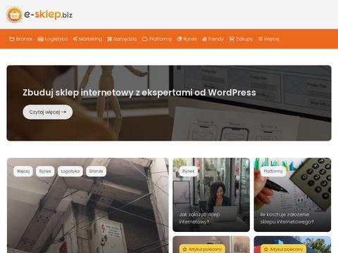 Portal zakupowy - e-sklep.biz