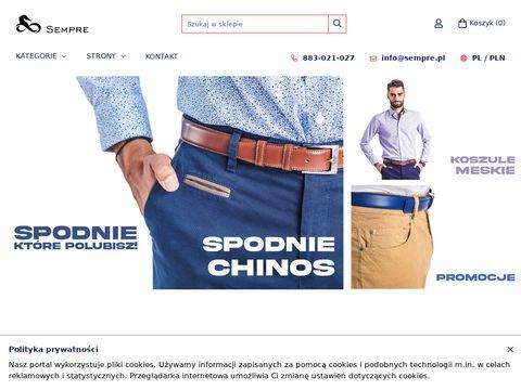 Spodnie mÄ™skie - e-spodnie.pl