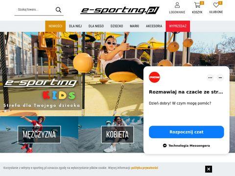 E-sporting.pl-buty do fitnessu
