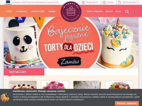 E-torty.pl - torty przez internet