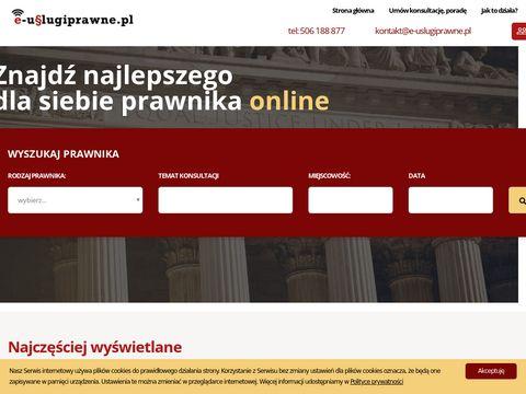 Porady Prawne Online 24h/7 - e-uslugiprawne.pl