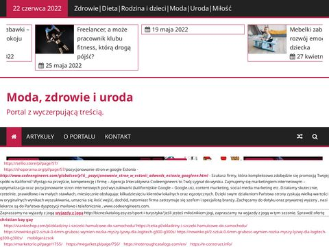 Portal moda, zdrowie i uroda e-womenshealth.pl