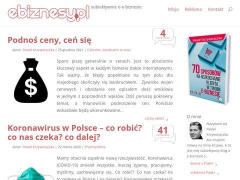 Blog o e-biznesie