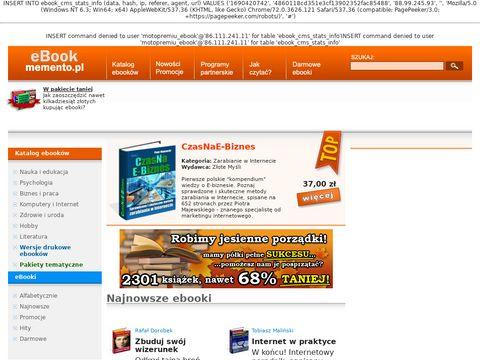 Dobry ebook - ebooki, publikacje elektroniczne
