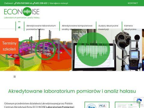 Trudna ochrona przed hałasem – eco-noise.pl