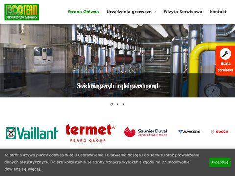 Instalacje grzewcze - serwis kot艂贸w grzewczych gazowych | Eco-Term