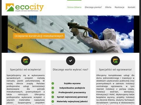 EcoCity   Specjali艣ci od ocieplania i ogrzewania