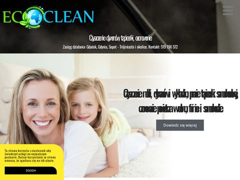 Ecoclean pranie kanap Gda艅sk