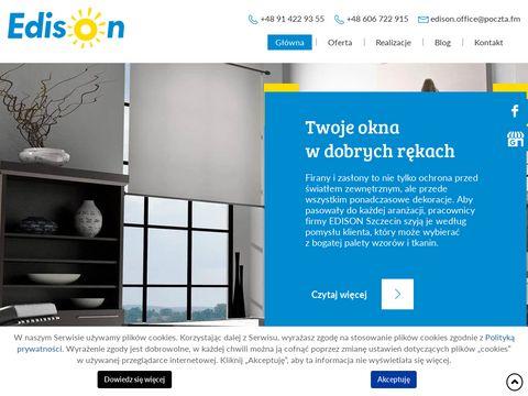 Www.edisonszczecin.pl regulacja okien i drzwi