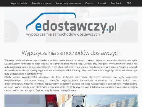 Edostawczy.pl - wypo偶yczalnia samochod贸w dostawczych - Warszawa