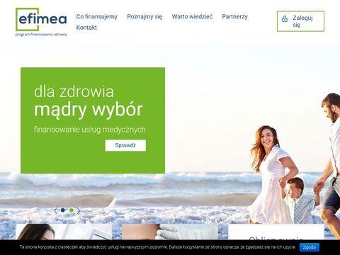 Efimea - finansowanie us艂ug medycznych
