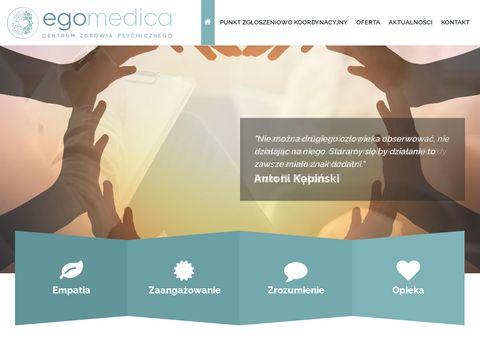 Egomedica - poradnia zdrowia psychicznego