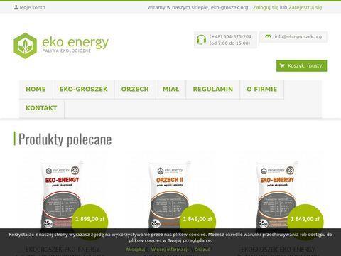 Ekogroszek najwy偶szej jako艣ci - eko-groszek.org