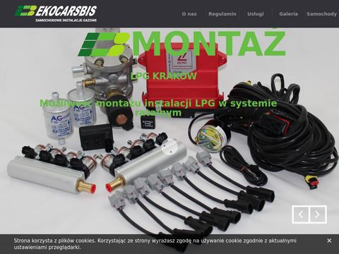 EKO-Cars. Samochodowe instalacje gazowe.