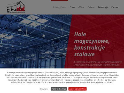 EKOSTAL.PL - Hale, Konstrukcje stalowe