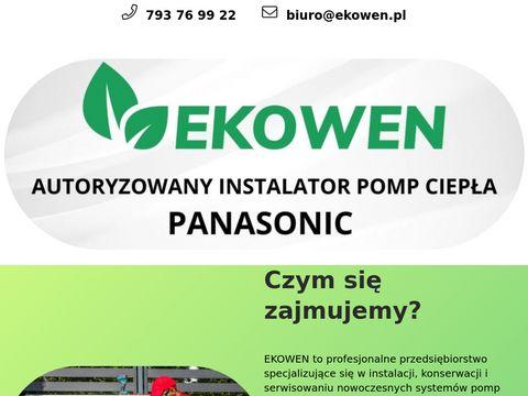 EKOWEN - energooszczÄ™dne rozwiÄ…zania dla Twojego domu!