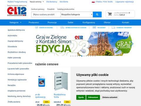 PRZEDSIĘBIORSTWO EL 12 SP. Z O.O. artykuły elektryczne wrocław