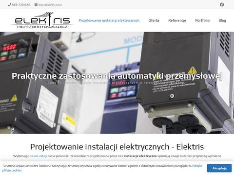 Projektowanie instalacji elektrycznych Białystok, Warszawa - Elektris