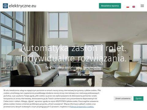 Karnisze Elektryczne, Rolety rzymskie - Elektryczne.eu