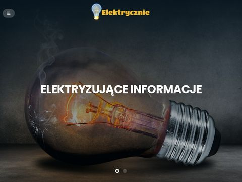Elektrycznie - przydatne porady