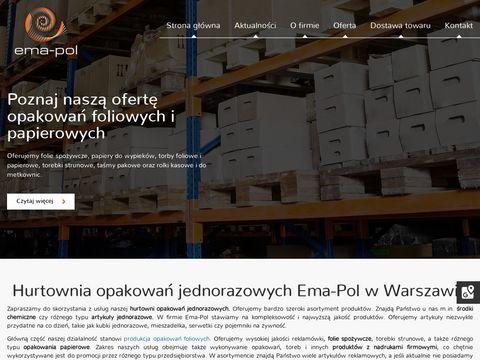 EMA-POL materiały firmowe warszawa