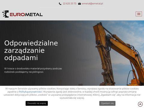Emetal.pl demontaż kotłów warszawa