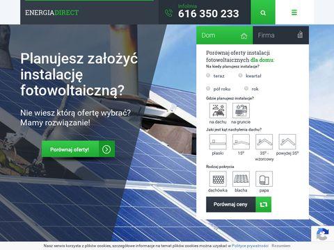 Por贸wnanie cen energii elektrycznej - EnergiaDirect.pl