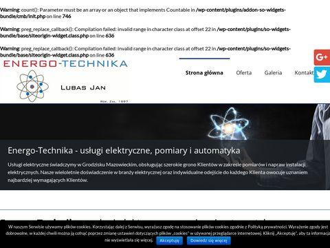 Www.energotechnika.com.pl elektryka
