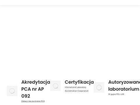 Laboratorium wzorcujÄ…ce ERG95.pl
