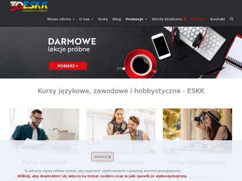ESKK 鈥� kursy j臋zykowe, zawodowe i hobbystyczne