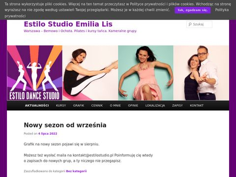 Taniec w Szczecinie