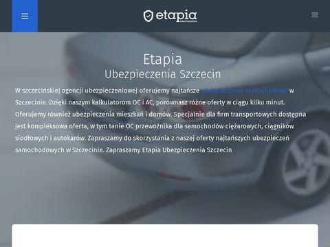 Ubezpieczenia Szczecin - Etapia