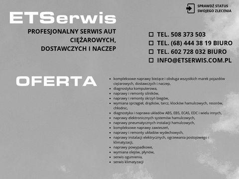 Www.etserwis.com.pl Diagnostyka komputerowa aut ci臋偶arowych lubuskie