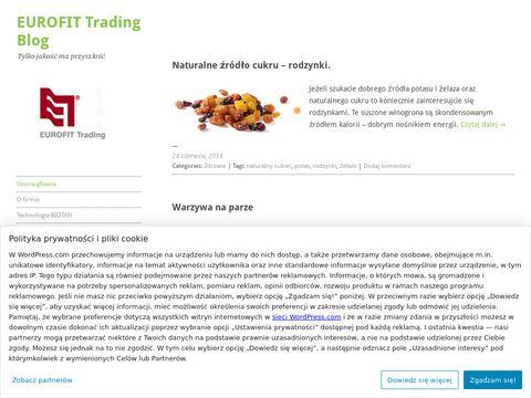 Eurofit Trading Blog