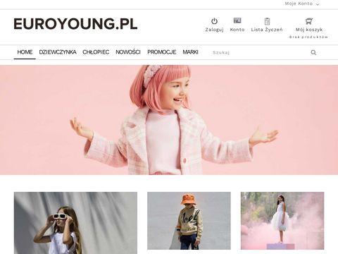 Euroyoung.pl – ubrania i buty dziecięce, ekskluzywne marki, najwyższa jakość.