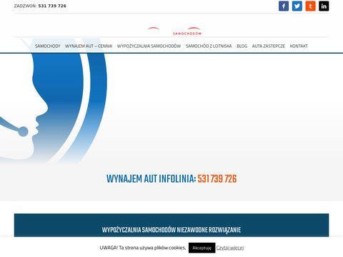 Wypożyczalnia samochodów Warszawa - atrakcyjne ceny, nowa jakość