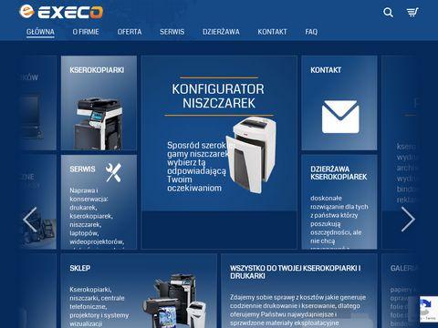 EXECO kraków - kserokopiarki, drukarki, centrale telefoniczne, laptopy, alarmy - instalacje,serwis, minimalizacja kosztów !!!, audyty